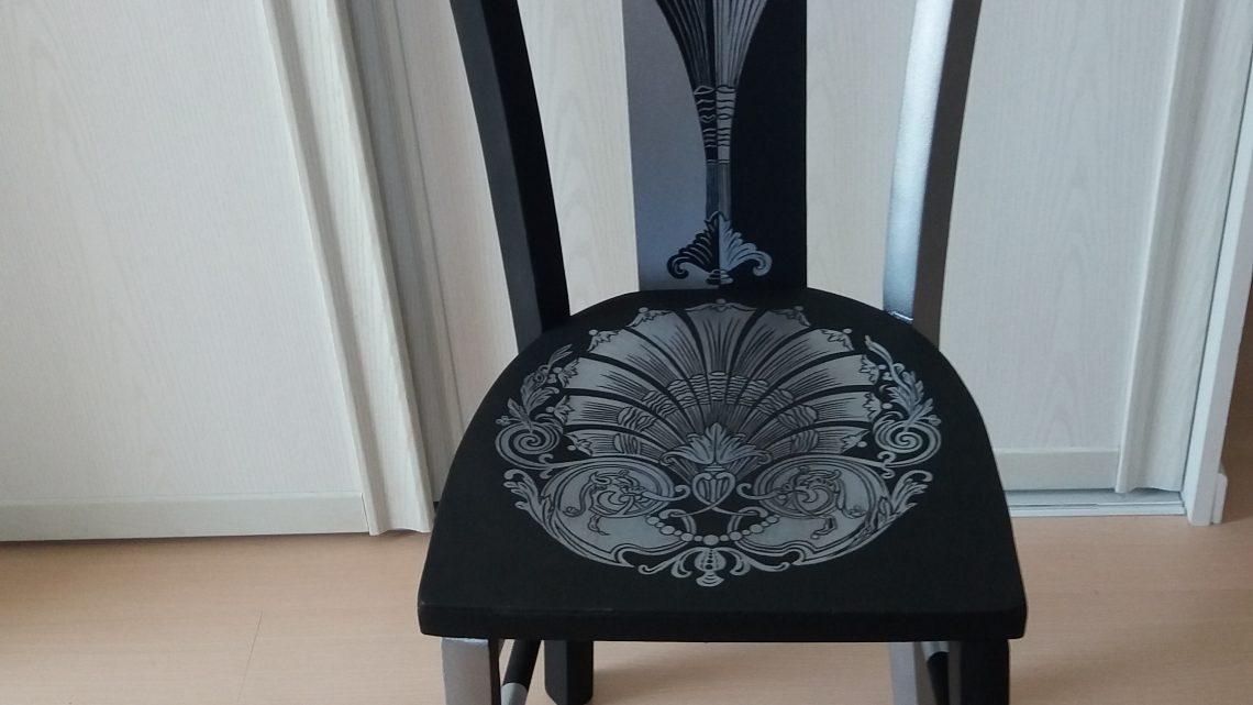 Rénovation et décoration de chaises