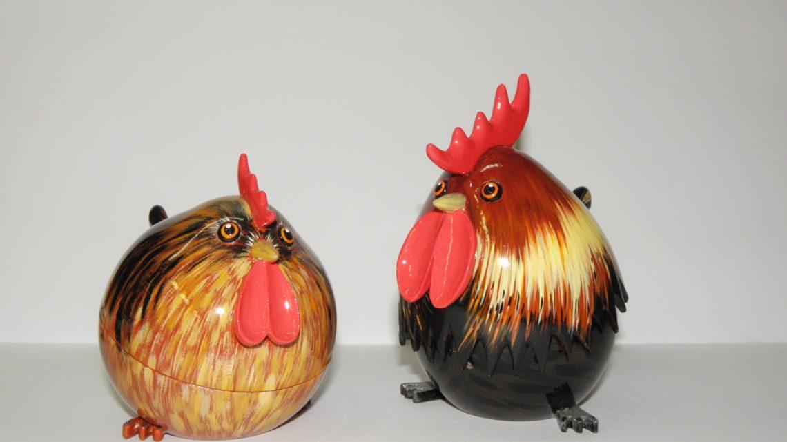 Poule et Coq (boîtes)