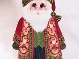 Grand Père Noël en bois
